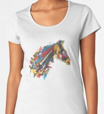 beygir (horse) Women's Premium T-Shirt