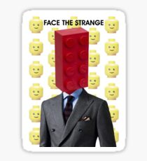 Mr Legoman Sticker
