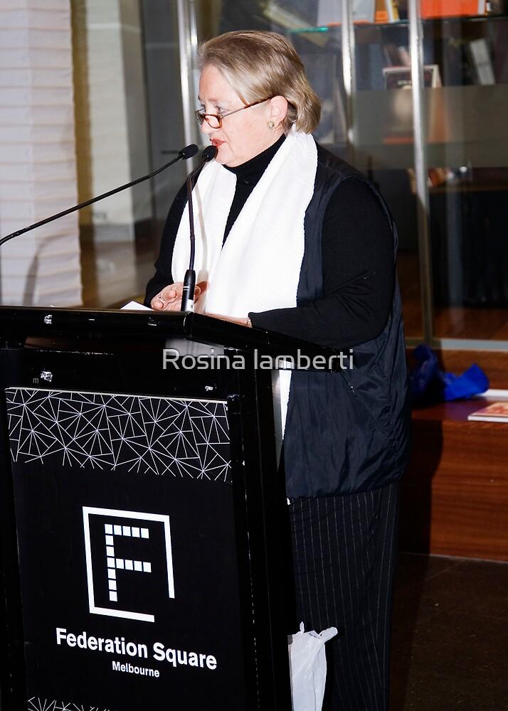 14th June 2008 - Poetry at Fed Square by Rosina lamberti