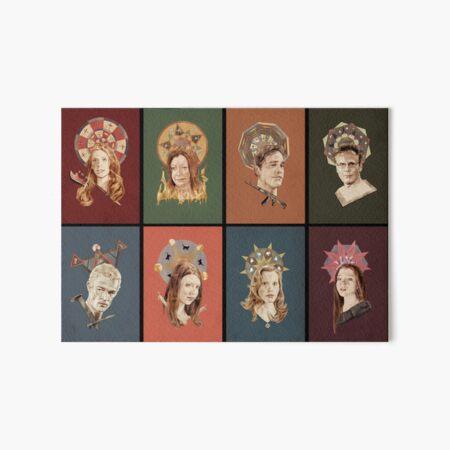 The Saints of Sunnydale Art Board Print