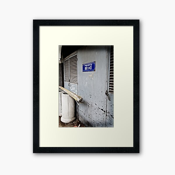 A Door Framed Art Print