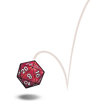 Roll your dice! D20 by AHundredAtlas