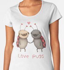 Love Pugs Women's Premium T-Shirt