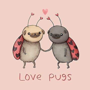 Love Pugs by SophieCorrigan