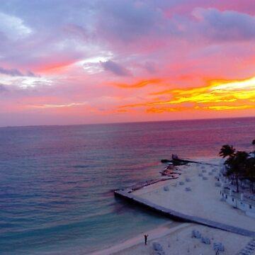 Sunrise Cancun 2 by karenkirkham