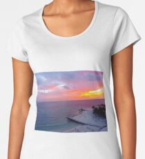 Sunrise Cancun 2 Women's Premium T-Shirt