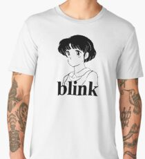 Vintage BLINK 182 (Pre-182) Anime / Manga Design  Men's Premium T-Shirt