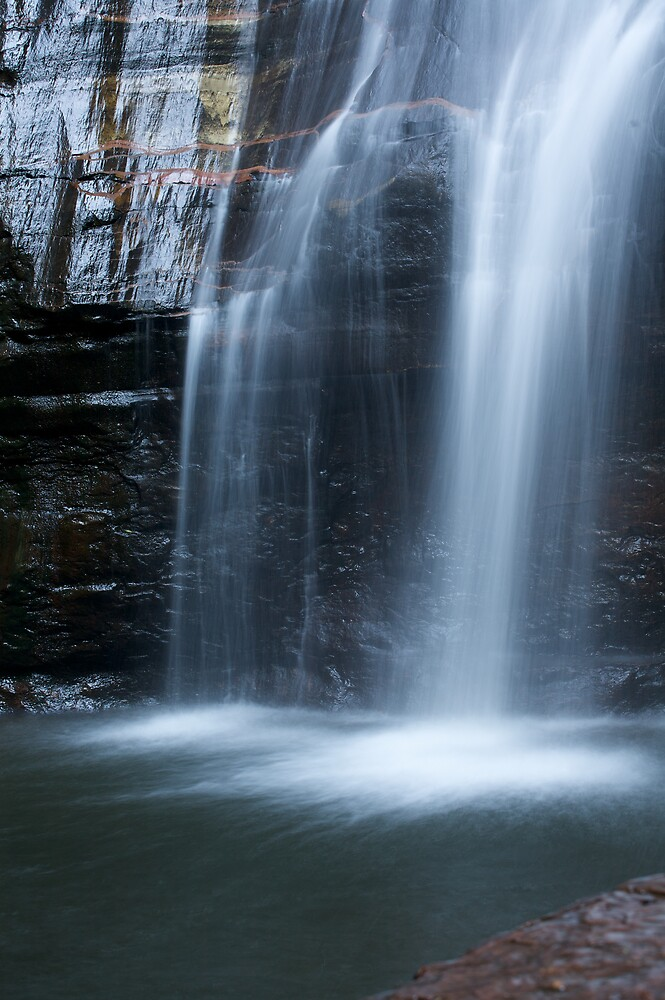 Blue Mountains Waterfall 2 by Mark Williamson