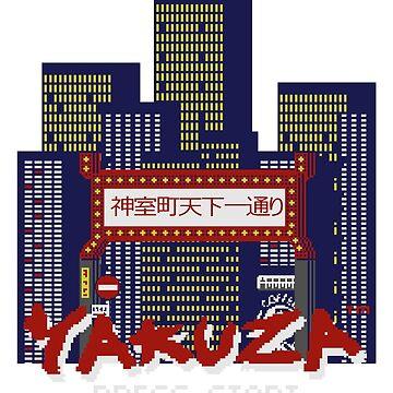 Yakuza 1988 by Deekman