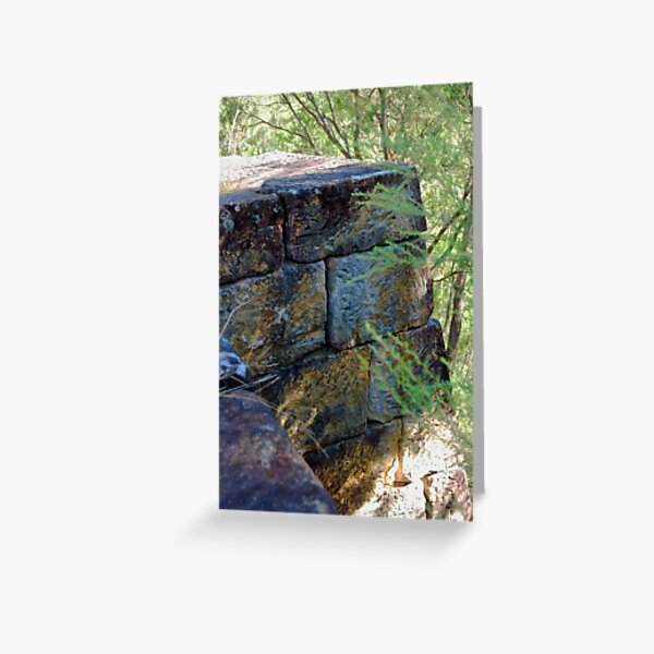 Stone Buttress - Great North Road Greeting Card