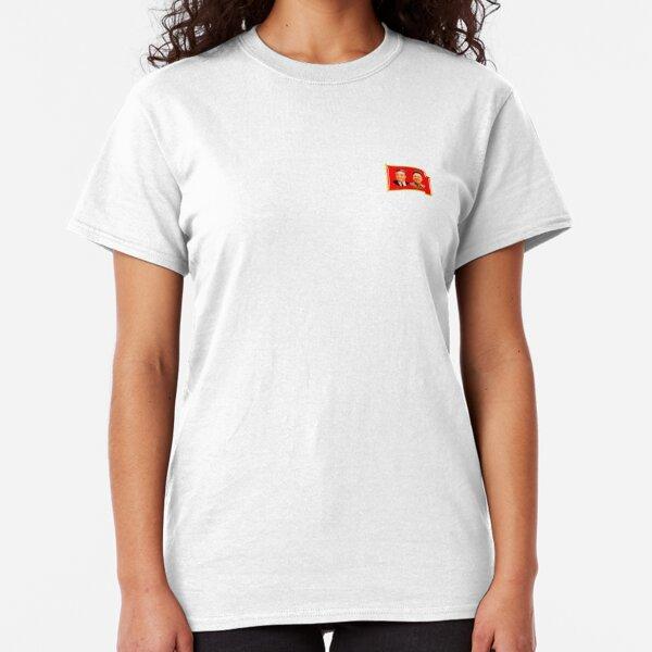 North Korean Lapel Pin, DPRK Classic T-Shirt