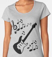 Rythmic Guitar Women's Premium T-Shirt