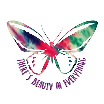 Colorful Paint Butterfly T-Shirt by ShyneR