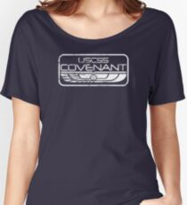 Alien - USCSS Covenant Shield Variant Women's Relaxed Fit T-Shirt
