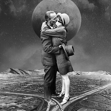 Mond über Marin von TerryR