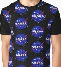 SNASA (Secret NASA - Logo) Graphic T-Shirt