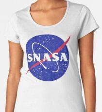 SNASA (Secret NASA - Logo) Women's Premium T-Shirt