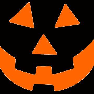 Jack O Lantern Pumpkin Halloween Costume Shirt for Men Women by merkraht