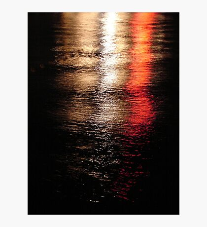Lights on the Water  Photographic Print