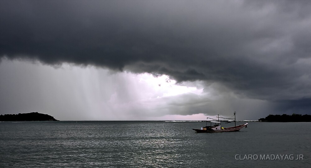 Storm by CLARO MADAYAG JR