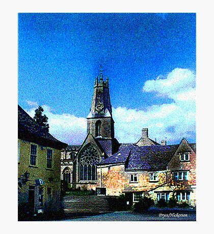 Church In Minchinhampton Photographic Print