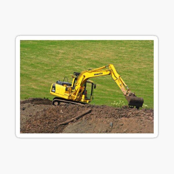Komatsu PC 130 tracked excavator  Sticker