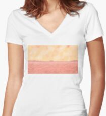 Midway Coronado Women's Fitted V-Neck T-Shirt