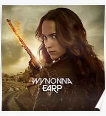"Wynonna Earp ""Melanie Scrofano"" Poster"