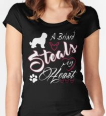 briard Women's Fitted Scoop T-Shirt