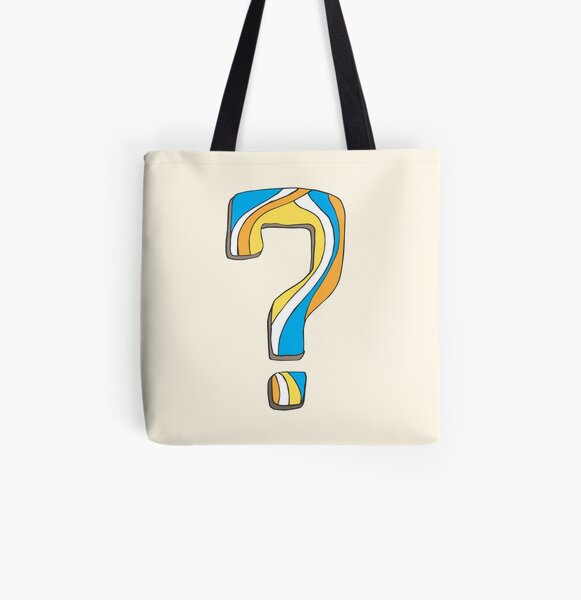 Why? All Over Print Tote Bag