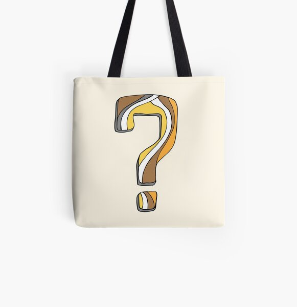 What did I do? All Over Print Tote Bag