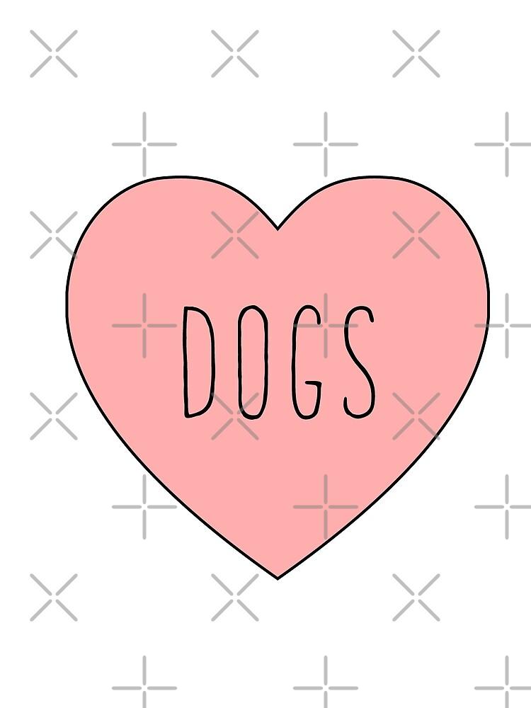 Amo el corazón de los perros | Perro de thepinecones