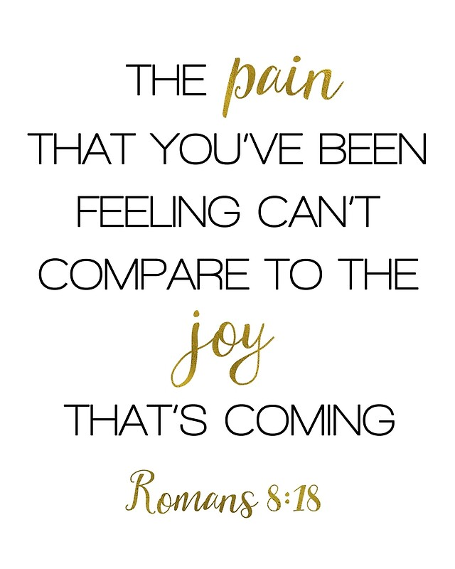 Image result for Romans 8:18
