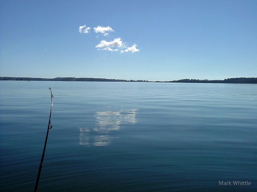 Fishing cures the blues by Mark Whittle