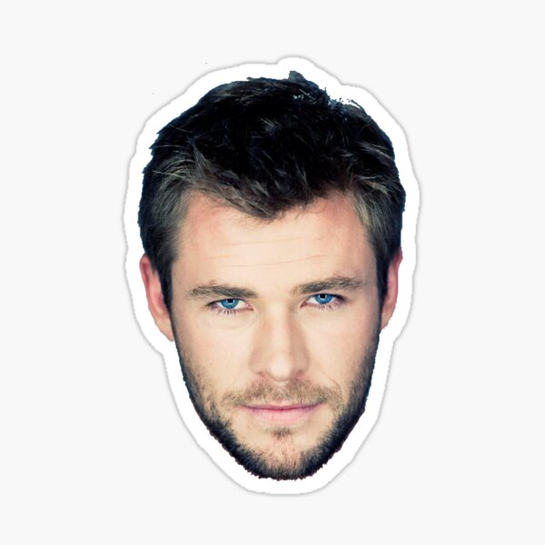 Chris Hemsworth Sticker