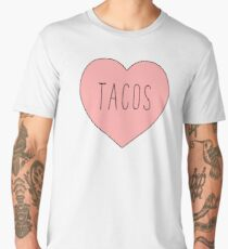 I Love Tacos Heart | Taco Time Men's Premium T-Shirt