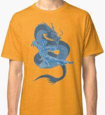 Be like water dragon art Classic T-Shirt