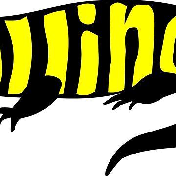 Illionis, Tiger Salamander by denip