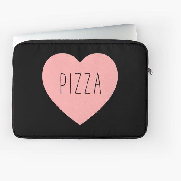 I Love Pizza Heart Laptop Sleeve