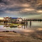 Hagley's Landing and the Boat by TJ Baccari Photography
