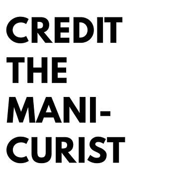 Credit the manicurist by thenailscape