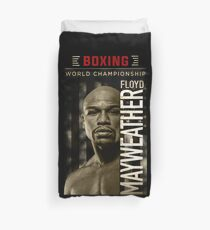 boxing champion Duvet Cover