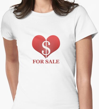 Heart On Sale large T-Shirt