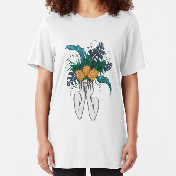 Pineapples are in my head Slim Fit T-Shirt