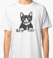 Poker Cat Face Classic T-Shirt