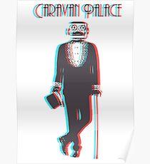 Caravan Palace Poster