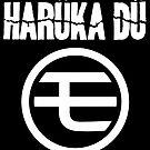Harüka Dü - Mo Logo - White  by FoniMoni