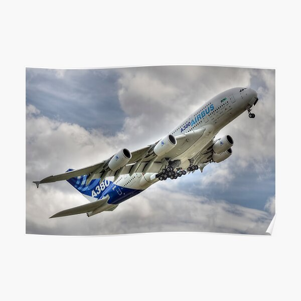 Airbus A380 Poster