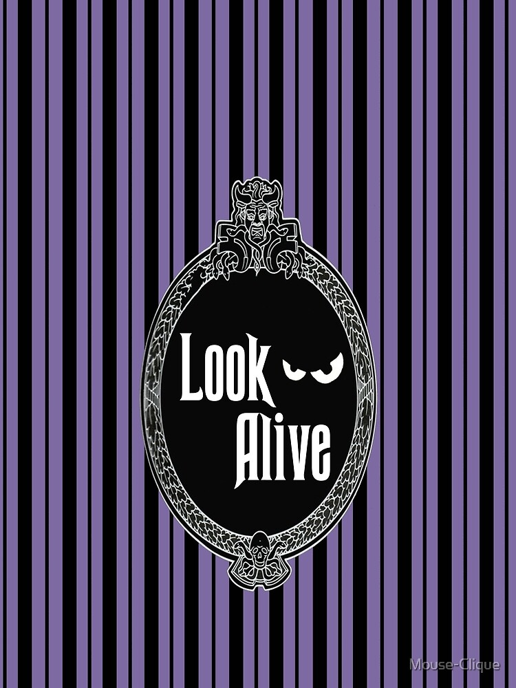 Look Alive - Purple by Mouse-Clique