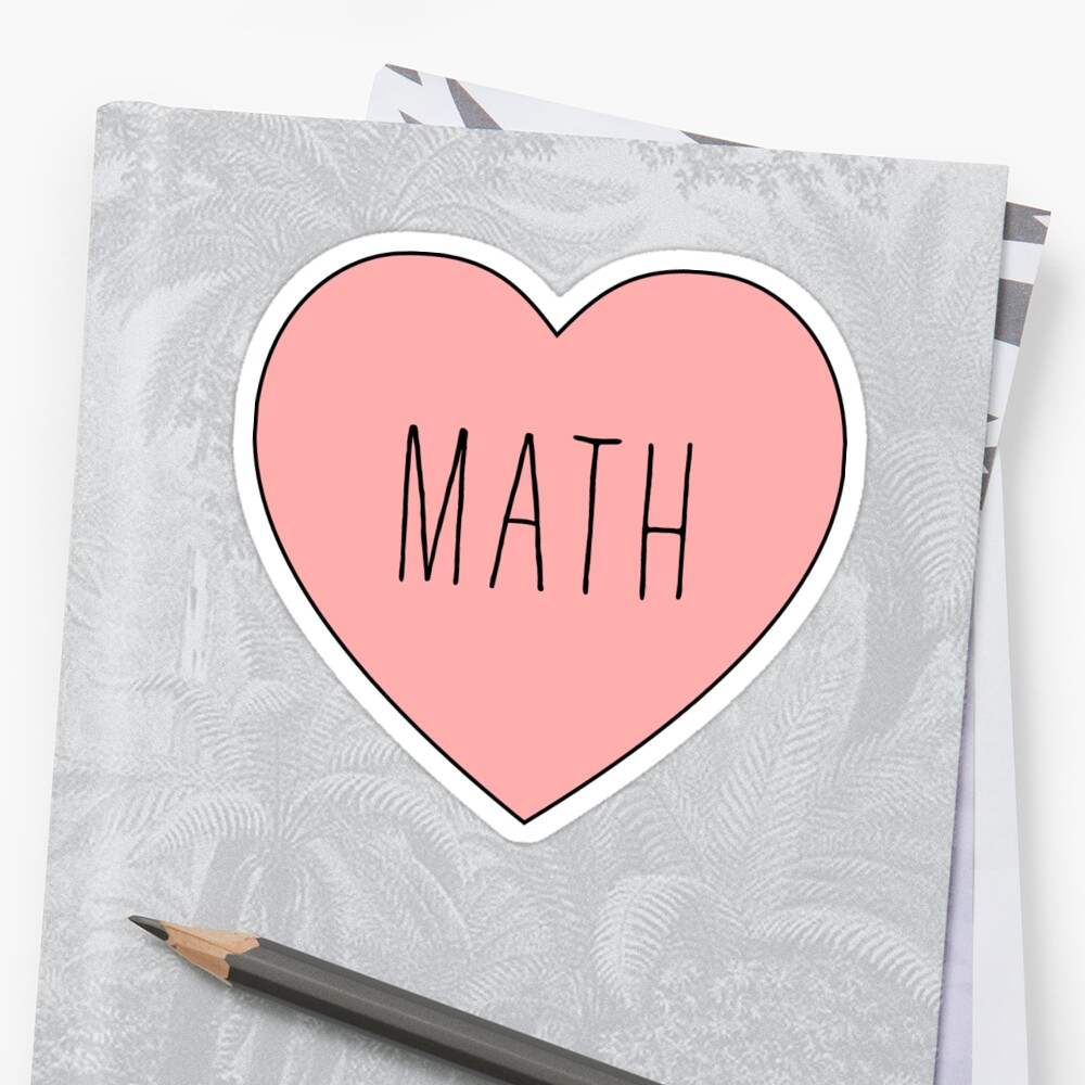 I Love Math Heart by thepinecones